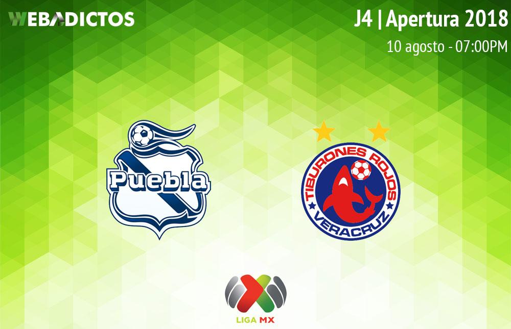 Puebla vs Veracruz, Jornada 4 de la Liga MX A2018 ¡En vivo por internet! - puebla-vs-veracruz-apertura-2018