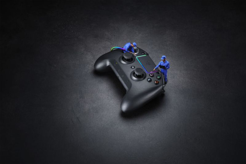 Razer anunció el lanzamiento de dos mandos para PS4: Raiju Ultimate y Tournament Edition - razer-raiju-ultimate-800x534