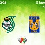 Santos vs Tigres, Jornada 5 del Apertura 2018 ¡En vivo!