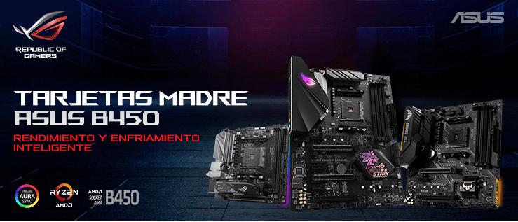 ASUS lanza nueva serie ROG Strix, Prime y TUF Gaming basadas en el chipset AMD B450 - tarjetas-madre-amd-b450