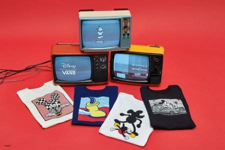 Vans y Disney celebran el 90 aniversario de Mickey Mouse con 4 exclusivos diseños - vans-y-disney-_tshirt