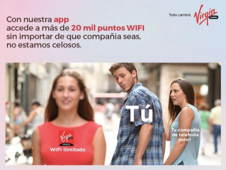 Virgin Mobile ofrecerá WiFi gratis sin importar la compañía telefónica a la que pertenezcas