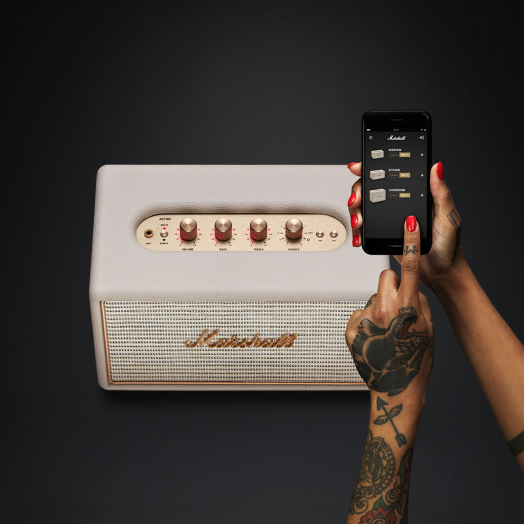 Marshall presenta Sistema Wireless Multi-room Wi-Fi en México - acton-multi-room