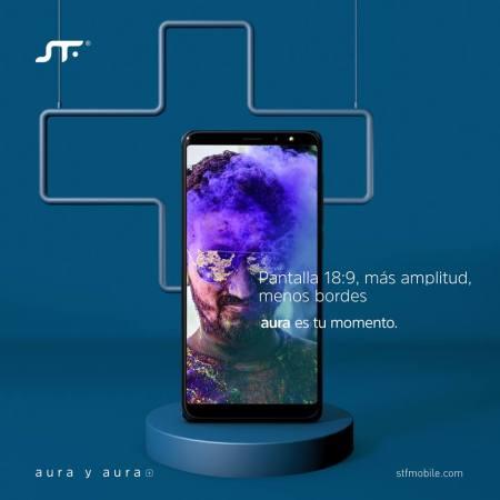 STF mobile lanza Aura y Aura Plus con sistema operativo Android GO - aura_1-450x450
