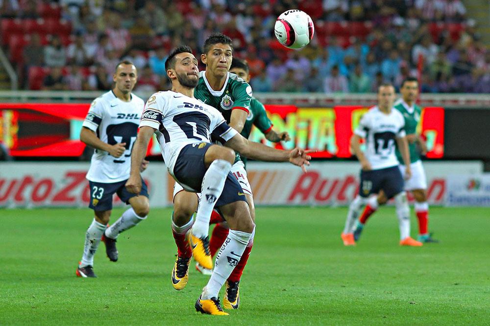 Chivas vs Pumas, Octavos de Copa MX A2018 ¡En vivo por internet! - chivas-vs-pumas-copa-mx-apertura-2018