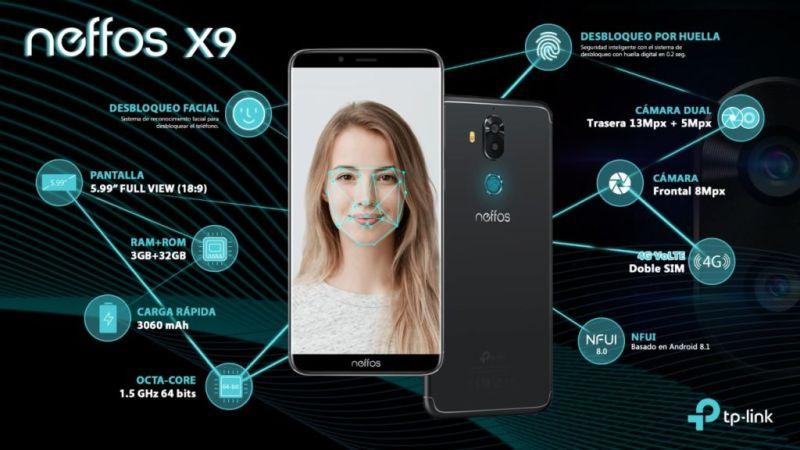 Lanzamiento del nuevo Neffos X9 con Inteligencia Artificial - desbloqueo-facial-ai-800x450
