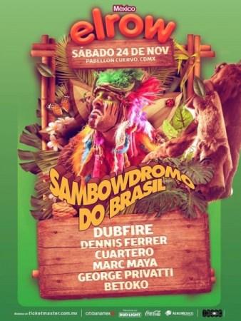 ElRow México presenta su Line Up oficial ¡boletos ya a la venta!