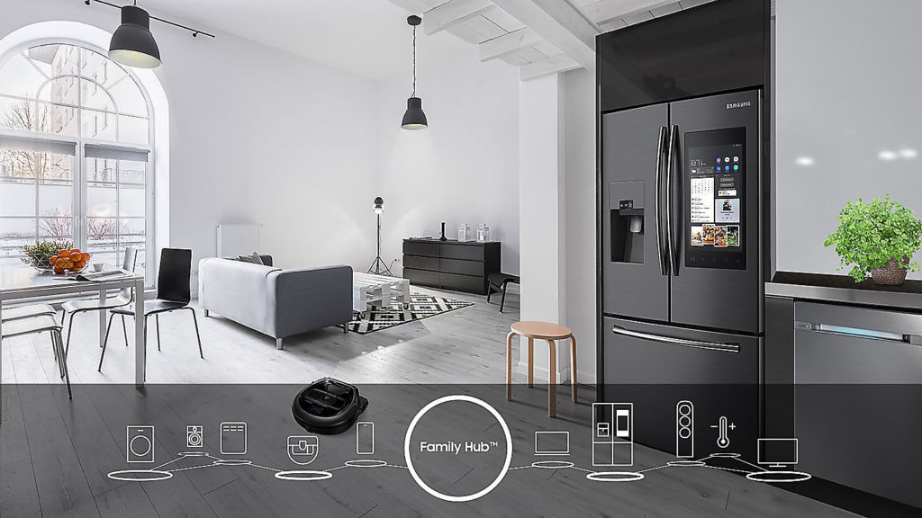 Smart Living, la línea premium de Samsung para concebir un hogar inteligente - family-hub-refrigerador