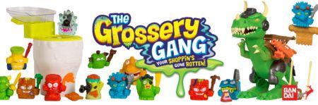 Los Grossery Gang presenta pelicula y nueva línea de juguetes de La guerra de los tiempos: Time Wars