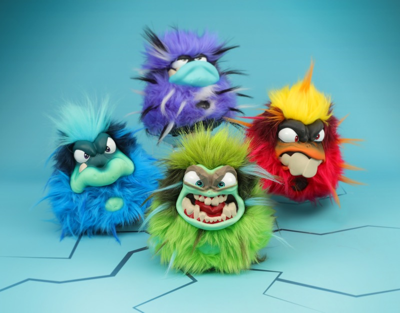 La primera anti-mascota virtual ha llegado ¡Los GRUMBLIES! - grumblies-800x627