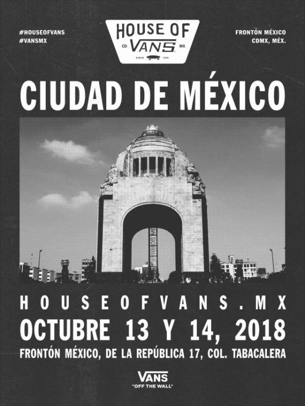 HOUSE OF VANS vuelve a la Ciudad de México el 13 y 14 de octubre ¡kate, música, arte y street culture! - house-of-vans-600x800