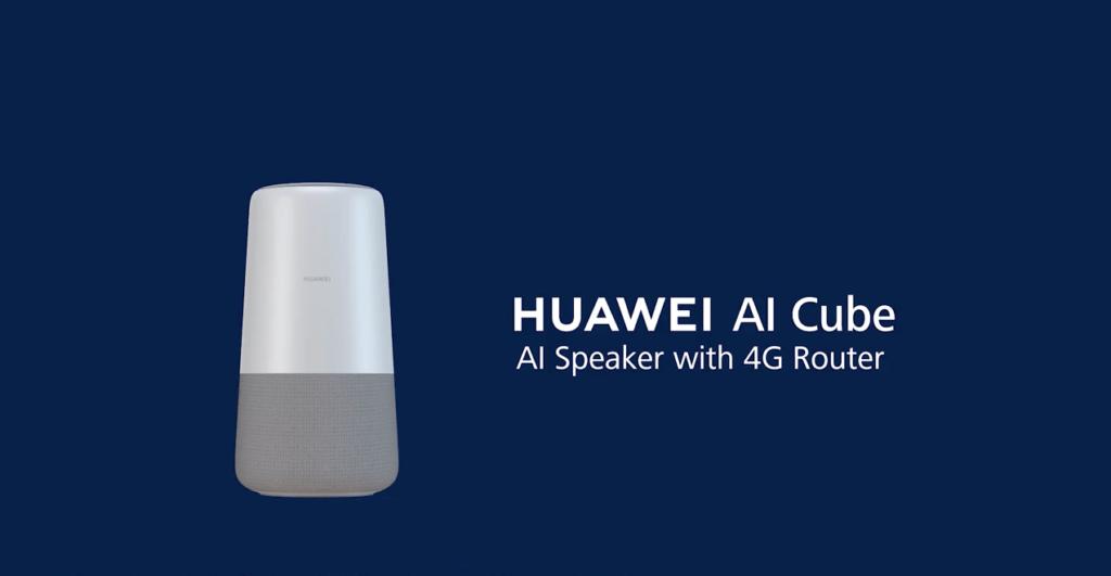 IFA 2018:Huawei revela el nuevo HUAWEI AI Cube compatible con Alexa - huawei-ai-cube
