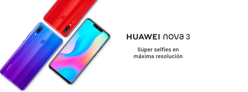HUAWEI nova 3, revoluciona la forma de tomar selfies en máxima resolución - huawei-nova-3-selfies-800x296