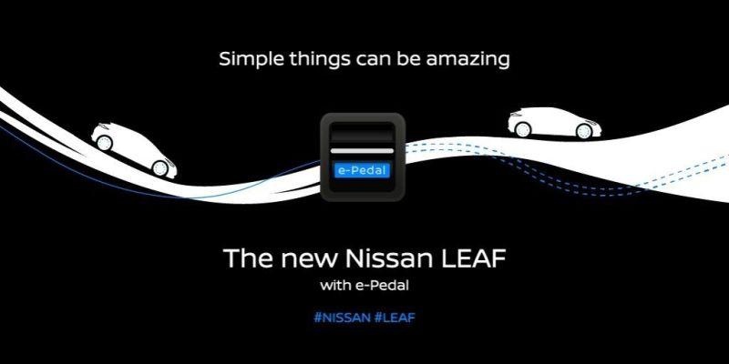 El nuevo Nissan LEAF llega a México con la avanzada tecnología e-Pedal - nissan-leaf-1-800x400