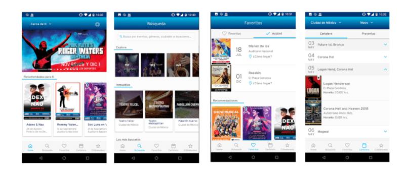 OCESA app, la app para enterarte antes que nadie de todos los conciertos - screenshot-ocesa-app-800x345