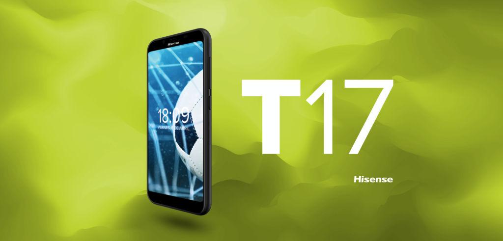 Hisense presenta los smartphones T965 y T17 ¡ya disponibles en exclusiva con Movistar! - smartphone-hisense-t17