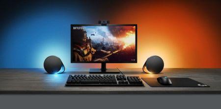 Logitech lanza bocinas para PC gaming que cambian de color según tu juego