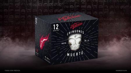 Cerveza Victoria lanza lata edición especial de Día de Muertos con realidad aumentada - empaque-negro-edicion-especial
