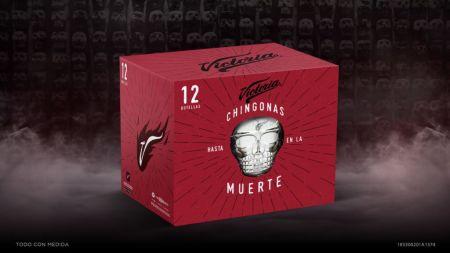 Cerveza Victoria lanza lata edición especial de Día de Muertos con realidad aumentada - empaque-rojo-edicion-especial