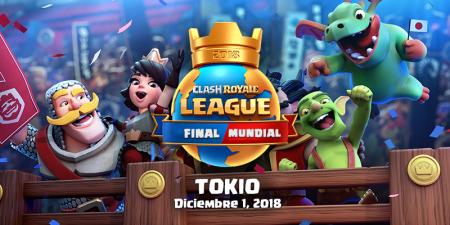Final Mundial de Clash Royale League Japón el próximo 1 de diciembre