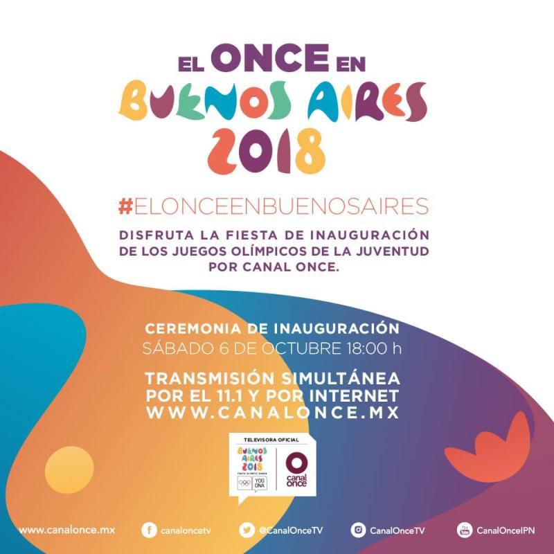 Los Juegos Olímpicos de la Juventud, por Canal Once del 6 al 17 de octubre - juegos-olimpicos-de-la-juventud-800x800