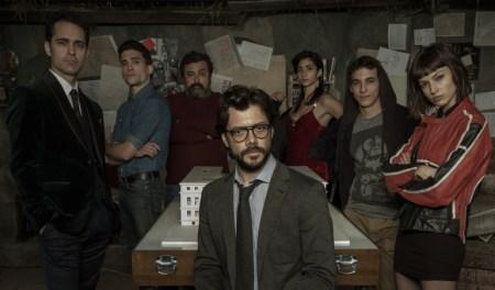 Netflix inicia el rodaje de la tercera parte de La casa de papel
