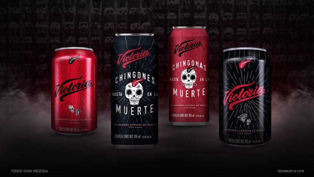 Cerveza Victoria lanza lata edición especial de Día de Muertos con realidad aumentada - latas-edicion-especial
