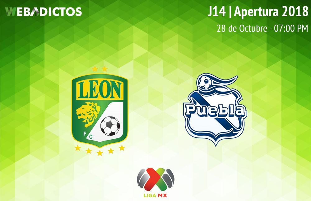 León vs Puebla, Jornada 14 del Apertura 2018 ¡En vivo por internet! - leon-vs-puebla-apertura-2018
