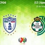 Pachuca vs Santos, Jornada 13 Apertura 2018 ¡En vivo por internet!