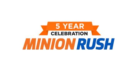 5to aniversario del juego Minion Rush: Gru – Mi Villano Favorito