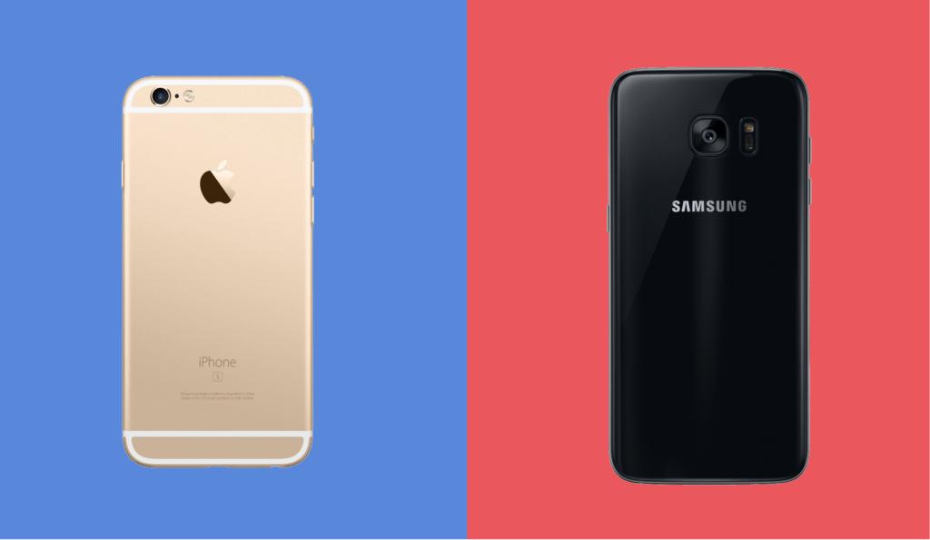 Apple y Samsung, sancionadas en Italia por obsolescencia programda - samsung-apple-sued