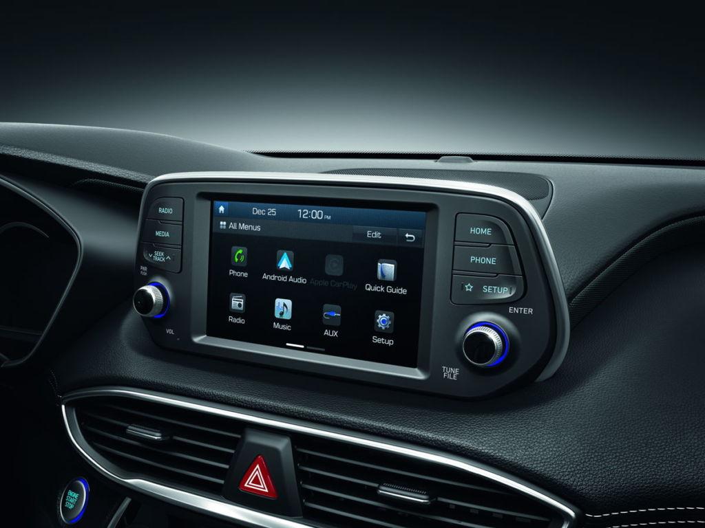 La totalmente nueva Hyundai Santa Fe y el renovado Elantra llegan a México - santafe-hundai