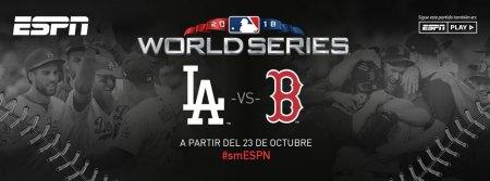 Serie Mundial 2018 de la MLB en vivo por ESPN: Dodgers vs Boston