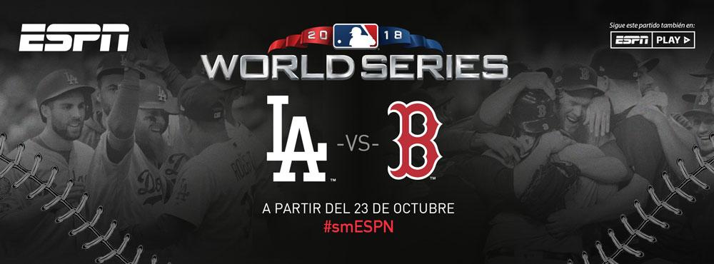Serie Mundial 2018 de la MLB en vivo por ESPN: Dodgers vs Boston - serie-mundial-2018-espn