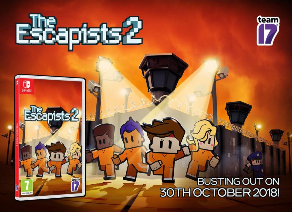The Escapists 2, llega en versión física para Nintendo Switch - the-escapists-2