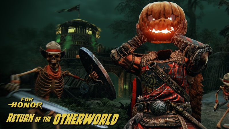 The Return of the Otherworld, evento de temporada For Honor ¡ya disponible! - the-return-of-the-otherworld-for-honorfh_halloween-800x450