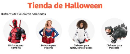 Amazon lanza tiendas especiales de Halloween y día de Muertos