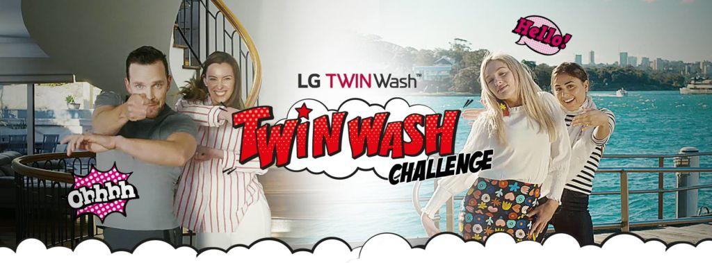 Se parte del Guinness World Record de LG con su campaña TWINWash Challenge - twinwash-challenge