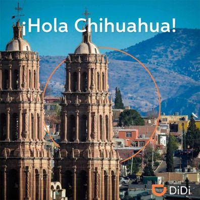 DiDi continúa con su expansión en México: Mexicali y Chihuahua - didi-chihuahua