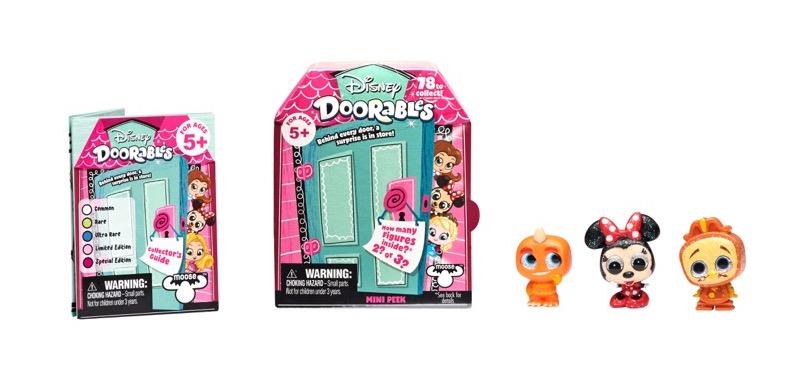 Doorables de Bandai ¡conoce a los personajes más memorables de Disney en versión mini! - doorables-de-bandai_mini-pack-disney