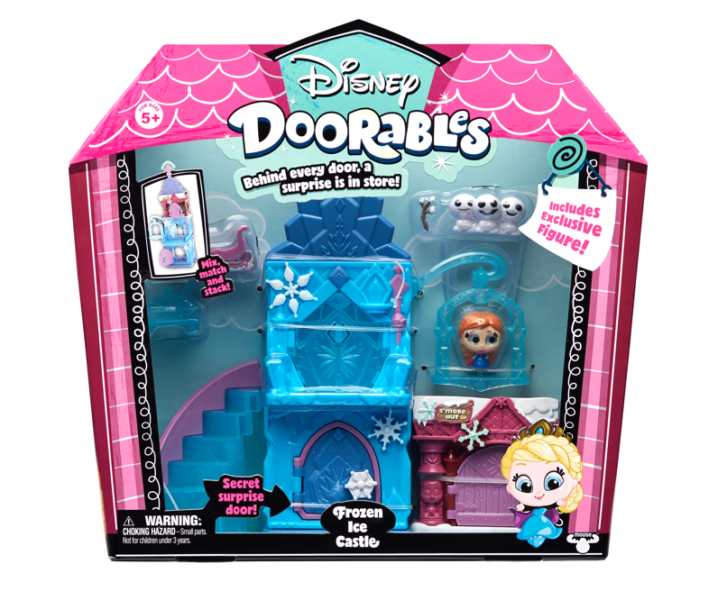Doorables de Bandai ¡conoce a los personajes más memorables de Disney en versión mini! - doorables-de-bandai_playset-de-temas_frozen_ice_castle