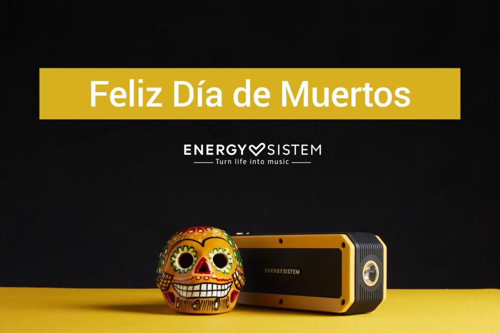 ¡El día de Muertos llegó de la mano de Energy Sistem! - energy