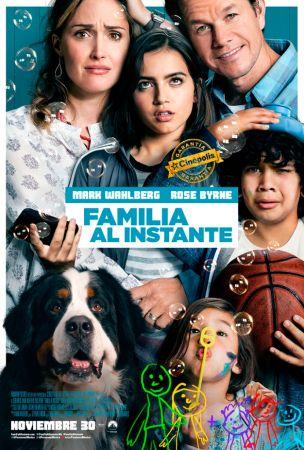 La película «Familia al instante» se estrena el 30 de Noviembre