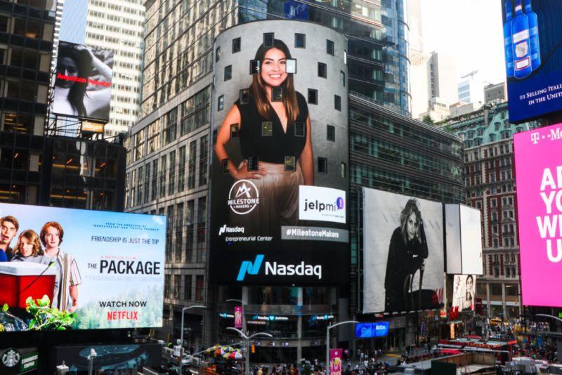 La primera app mexicana en participar en NASDAQ - jelp-mi-melina-cruz-tower-800x534