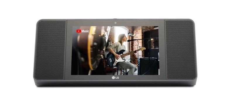 Nueva LG XBOOM AI ThinQ, bocina con pantalla AI y Google assistant - lg-xboom-ai-thinq-wk9-01-800x361