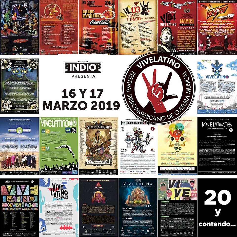 Lineup del Vive Latino 2019 - lineup-del-vive-latino
