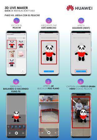 3D Live Maker, la app para escanear y animar objetos ¡Ya está disponible! - manual-huawei-3d-live-maker-004