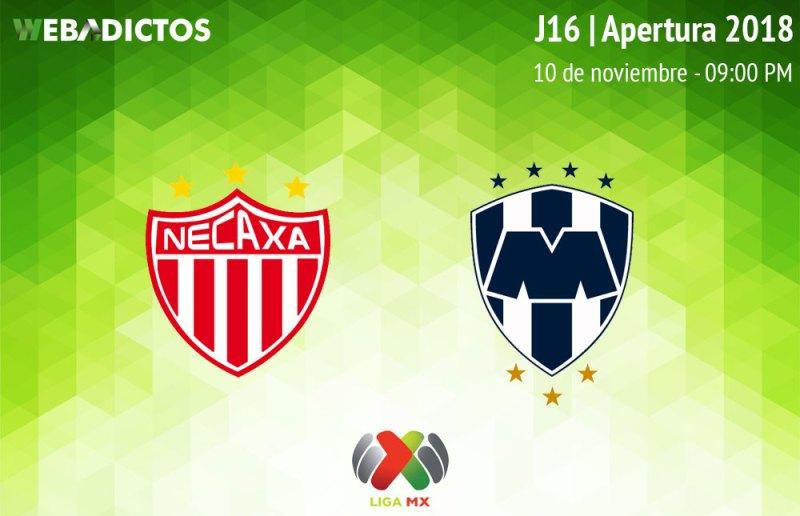 Necaxa vs Monterrey, Jornada 16 Apertura 2018 ¡En vivo por internet! - necaxa-vs-monterrey-apertura-2018
