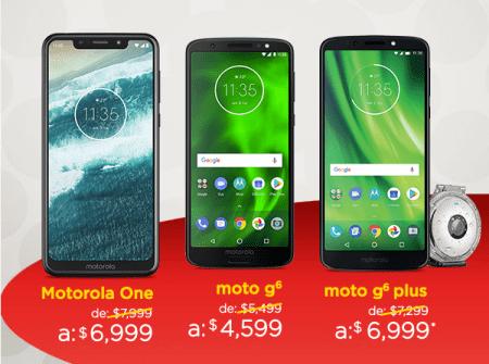 Oferta de celulares Motorola en el Buen Fin 2018 ¡Con increíbles descuentos!