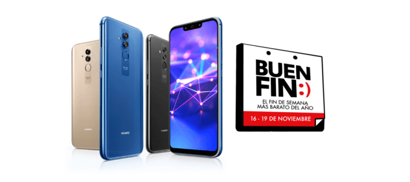 Promociones de Huawei en celulares, tablets y más en el Buen Fin 2018 - ofertas-huawei-buen-fin-2018-800x355